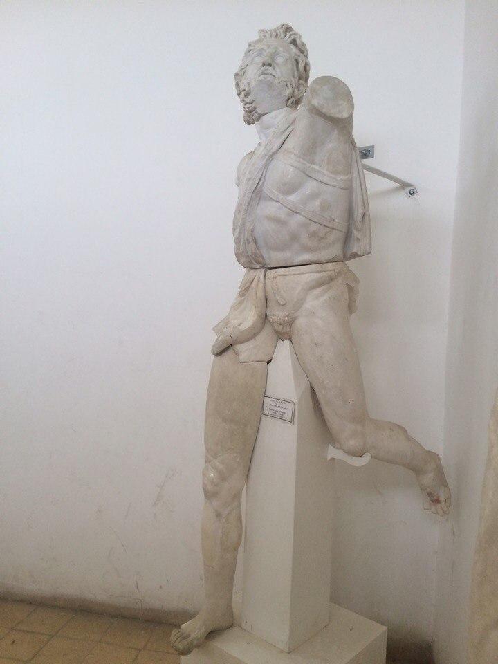 статуя Дедала
